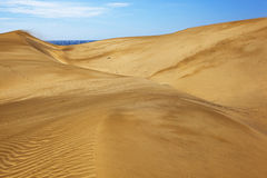 Maspalomas dunes Stock Photo
