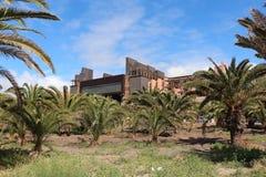 Maspalomas-Gran卡纳里亚,西班牙 免版税库存图片