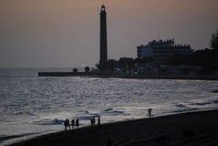Maspalomas Lighthouse royalty free stock images