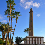 Maspalomas Lighthouse Stock Images