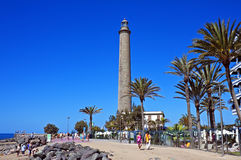 Maspalomas lighthouse Royalty Free Stock Photography