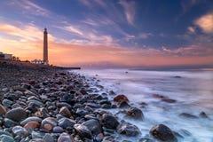 Maspalomas Lighthouse royalty free stock image