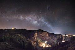 Maspalomas Milky Way Royalty Free Stock Photography