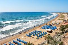 Maspalomas plaża zdjęcie stock