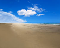 Maspalomas Playa del Ingles beach in Gran Canaria Royalty Free Stock Photo