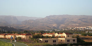 Maspalomas resort Stock Image
