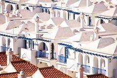 Maspalomas resort houses royalty free stock photography