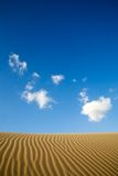 Maspalomas sand dunes Royalty Free Stock Photo