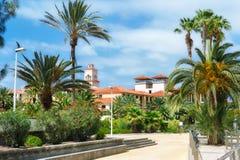 Maspalomastoevlucht Gran Canaria, Spanje stock foto's