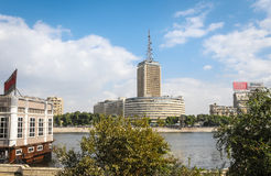 Maspero Building in Cairo Royalty Free Stock Photography