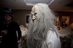Masque à la partie d'entreprise de Halloween Image stock