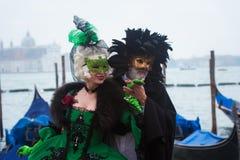 Masque à Venise, Italie Image libre de droits