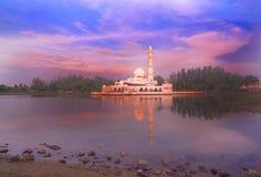 Masque поплавка в Kuala Terengganu Стоковые Изображения