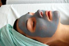 Masque #18 de beauté Images libres de droits