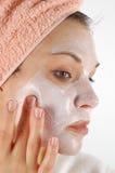 Masque #19 de beauté Image libre de droits