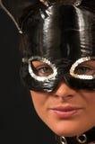 Masque 2 de procès de chat Images libres de droits