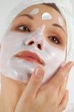 Masque #21 de beauté Image libre de droits