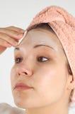 Masque #21 de beauté Images stock