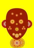 Masque africain illustration de vecteur