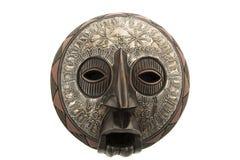 Masque africain en bois Images stock