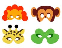 Masque animal illustration libre de droits