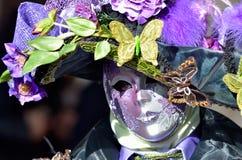 Masque artistique coloré Photographie stock libre de droits