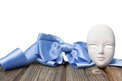 Masque avec un arc Photos libres de droits