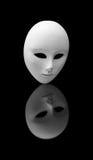 Masque blanc Photographie stock libre de droits