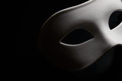 Masque blanc photos stock