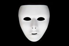 Masque blanc Image libre de droits