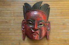 Masque cérémonieux d'Amérique du Sud images libres de droits
