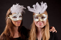 Masque carnaval d'ami Image stock