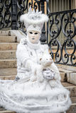 Masque carnaval de Venise Photos stock