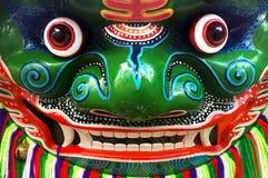 Masque chinois de caractère d'opéra images libres de droits