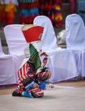 Masque coloré Ghost de phi au festival 2017 de khon merci Photo libre de droits
