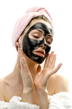 Masque cosmétique Images libres de droits