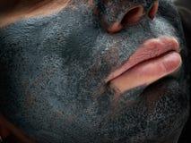 Masque cosmétique de beauté images stock