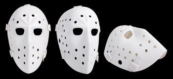 masque d'hockey photographie stock