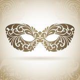 Masque d'ornamental de vintage Photos stock