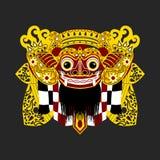 Masque de Barong de Balinese illustration libre de droits