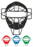 Masque de base-ball Photographie stock libre de droits