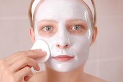 Masque de beauté photo libre de droits