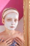 Masque de beauté photo stock