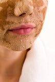 Masque de beauté Image stock