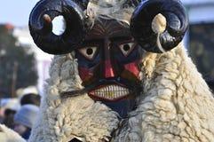 Masque de Buso dans Mohacs Image stock