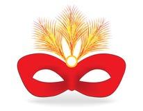 Masque de carnaval Photos libres de droits