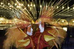 Masque de carnaval dans Venezia Photos stock