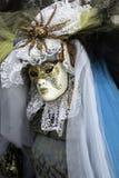 Masque de carnaval dans Venezia Photographie stock libre de droits