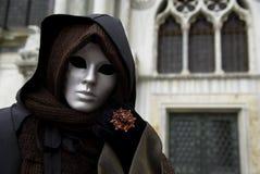 Masque de carnaval dans Venezia photo libre de droits