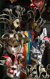 Masque de carnaval de Venise Italie pendant les festivités Image stock